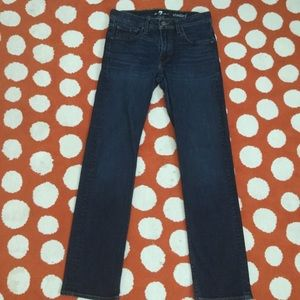 7 For All Mankind Standard Jeans like new!